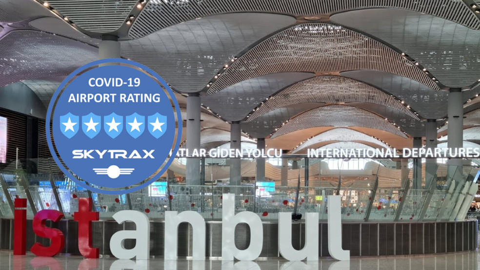 Istanbul Airport awarded 5-star COVID-19 rating