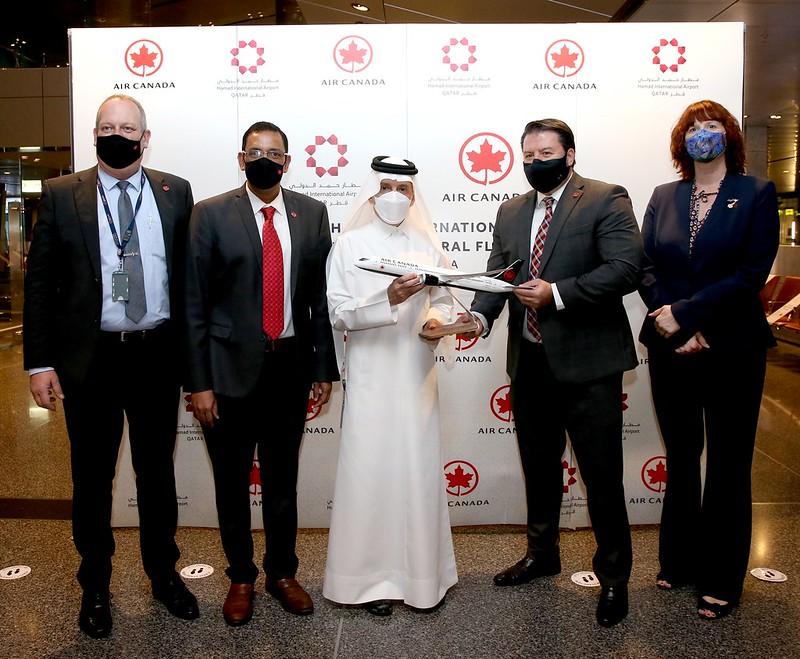 Prvi let Air Canada iz Toronta za Dohu slijeće u međunarodnu zračnu luku Hamad