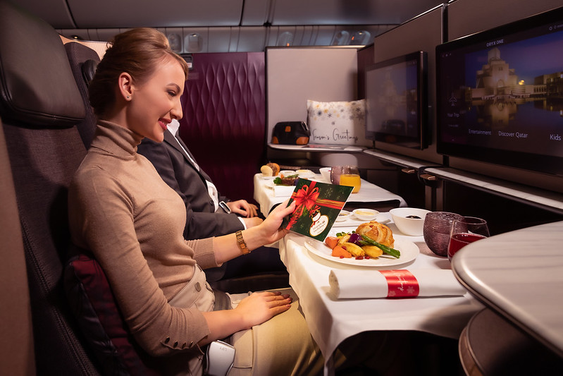 Qatar Airways tuto sváteční sezónu překvapí a potěší cestující