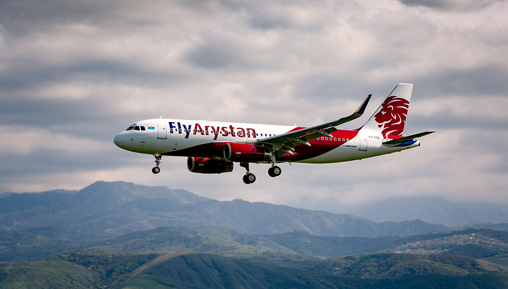 FlyArystan launches new service to Turkistan International Airport