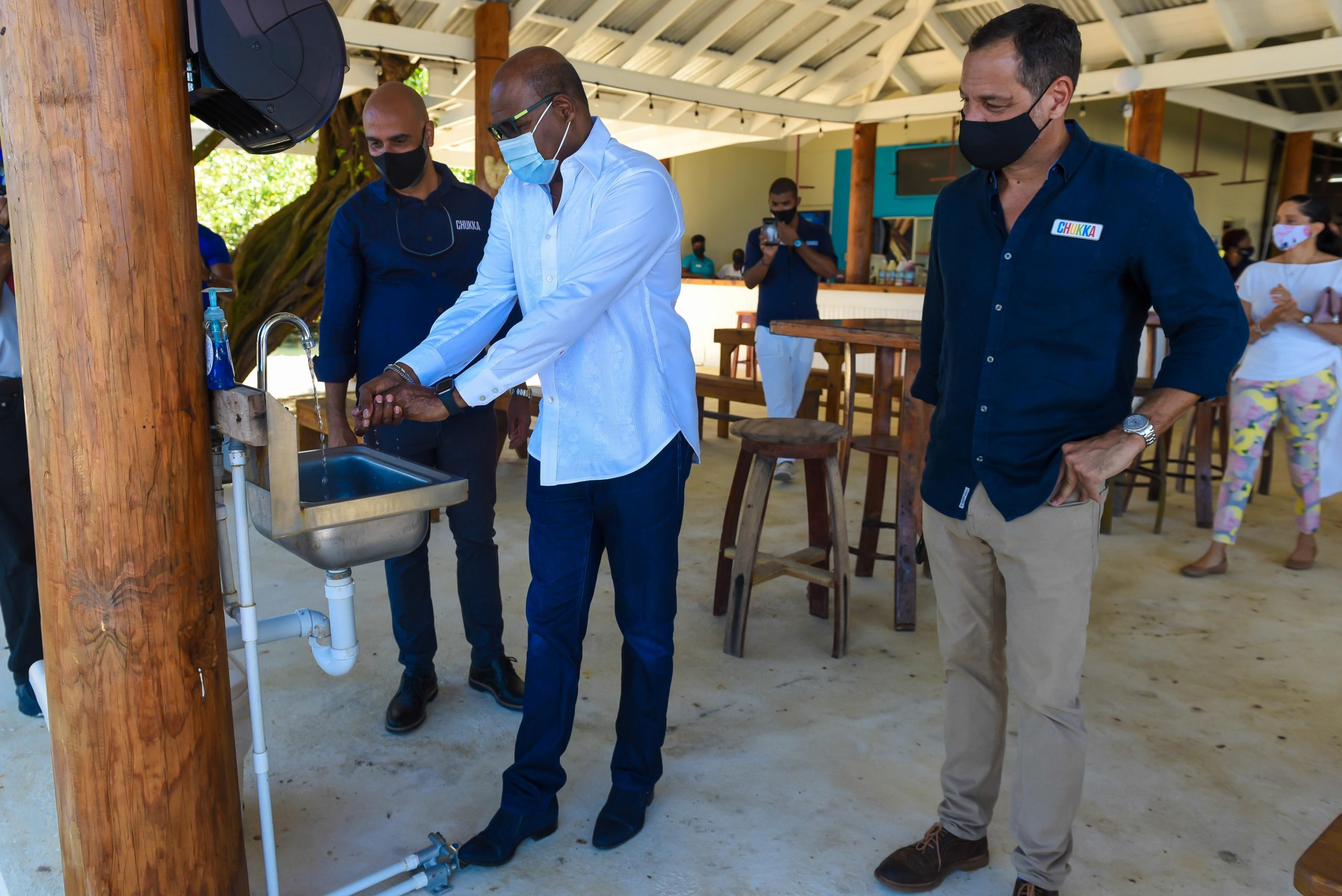 Jamaica's Tourism Minister Bartlett welcomes new Chukka $2M nature adventure park