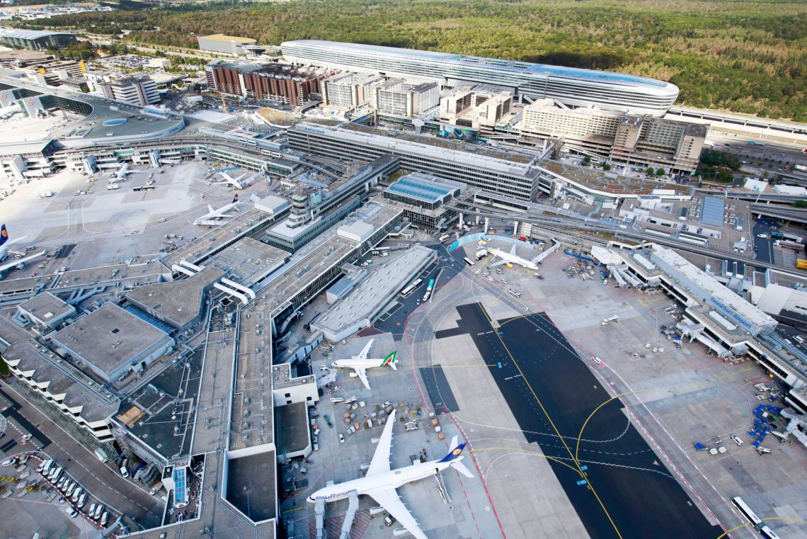 تصدر فرابورت RFP لقاعة رياضية / متعددة الوظائف في مطار فرانكفورت