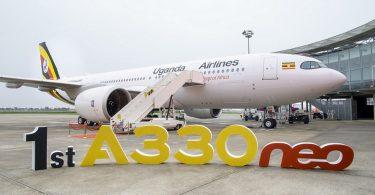 إيرباص تسلم أول طائرة A330neo إلى الخطوط الجوية الأوغندية