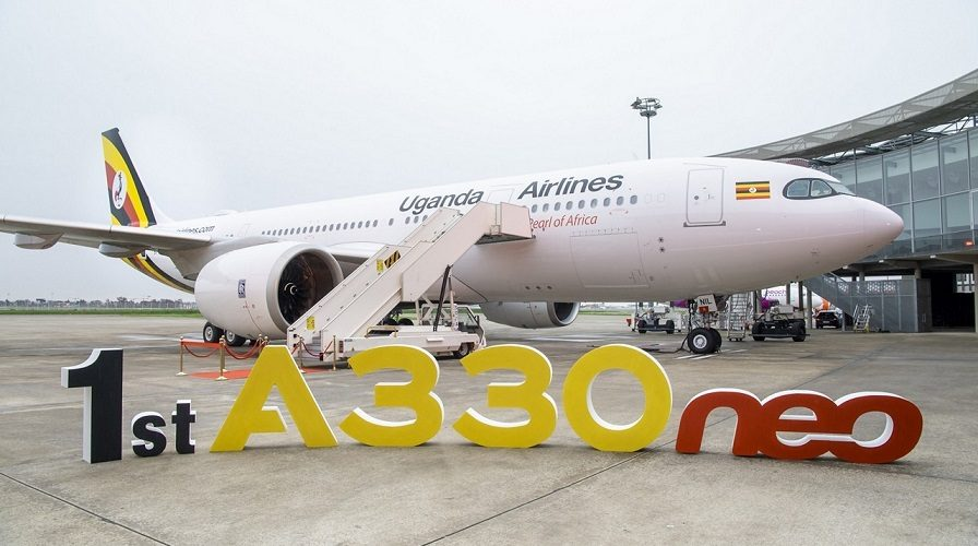 ایربس یوگنڈا ایئر لائنز کو پہلا A330neo جیٹ فراہم کرتی ہے