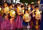 Koreas lanternebelysningsfestival bliver UNESCOs immaterielle kulturarv for menneskeheden