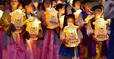 কোরিয়ার লণ্ঠন আলোক উত্সবটি ইউনেস্কোর অন্তর্গত সাংস্কৃতিক itতিহ্য হয়ে উঠেছে মানবতার