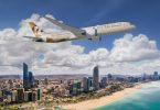 Mae Etihad Airways yn croesawu Abu Dhabi yn ailagor
