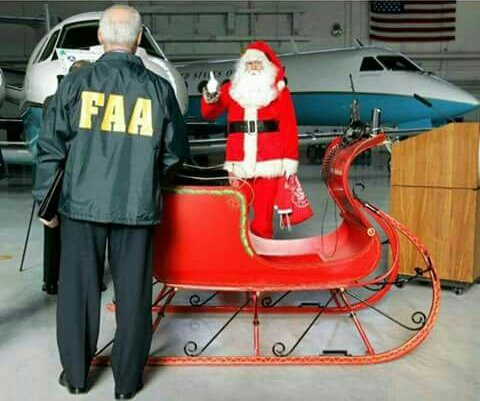 FAA grants Santa Claus special flight and launch permissions