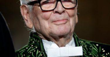 Die Modeikone Pierre Cardin stirbt im Alter von 98 Jahren