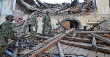 Mirtinas žemės drebėjimas nusiaubė Kroatiją