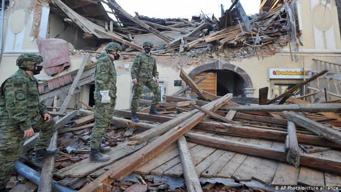 Tödliches Erdbeben verwüstet Kroatien