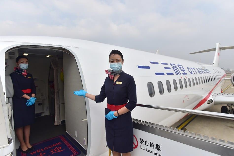 Nýtt OTT flugfélag fer í jómfrúarflug frá Shanghai til Peking