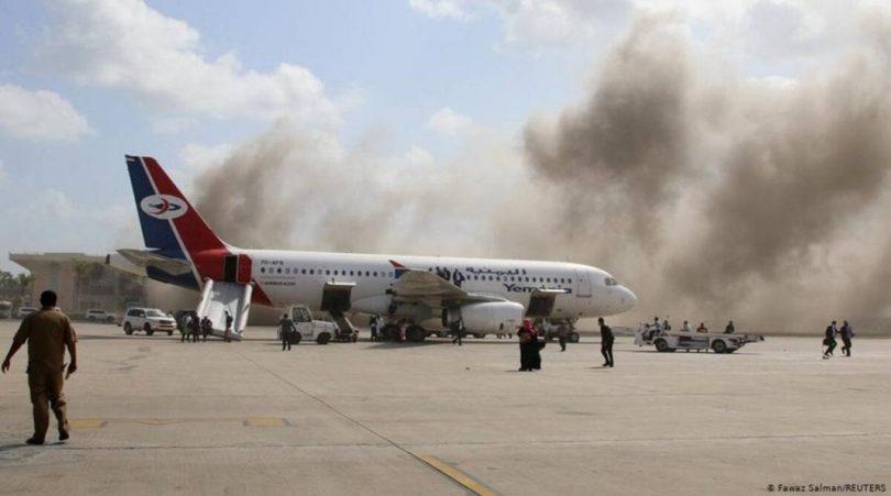 Snesevis dræbt og såret i Aden International Airport-angreb i Yemen
