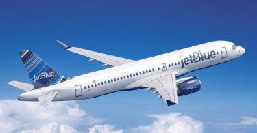 JetBlue ringsвони во Новата година со новиот авион Airbus A220-300