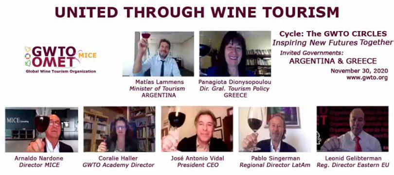 حلقه های سازمان جهانی گردشگری شراب: الهام بخش آینده های جدید با هم