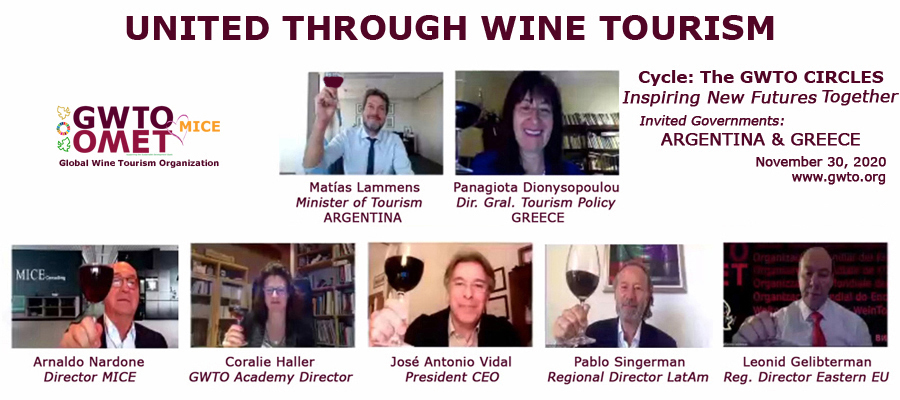 Global Wine Tourism Organization Circles: Inspiring new futures together