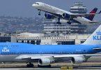 Delta a KLM bidden COVID gepréift Flich vun Atlanta op Amsterdam un