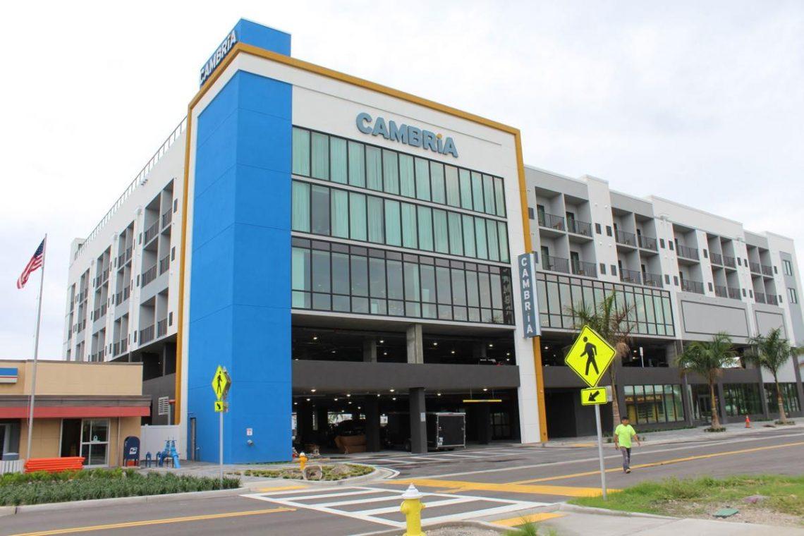 Cambria Hotels debutas en Madeira Beach, Florido