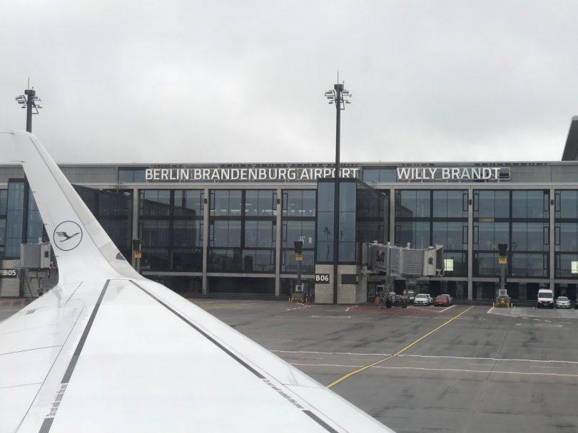 Lufthansa showing positive results at Berlin-Brandenburg airport