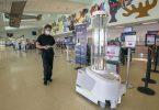 Key West Airport aeroporti ultrafiolet dezinfektsiyali robot bilan COVID-19ga qarshi kurashadi