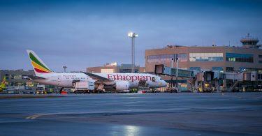 Ethiopian Airlines lancerer XNUMX. ugentlige Addis Abebafly fra Moskva Domodedovo Lufthavn
