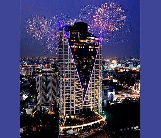 Prsten v novém roce v Thajsku s Centarou