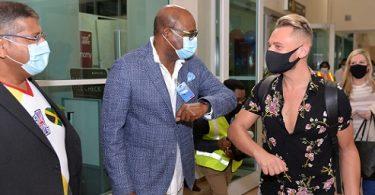 Minister Bartlett Welcomes Return of BA to Montego Bay