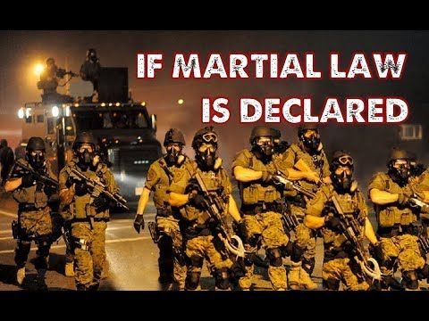President Trump To Impose Martial Law In The United States