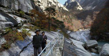 Severní Korea bude rozvíjet horskou turistiku