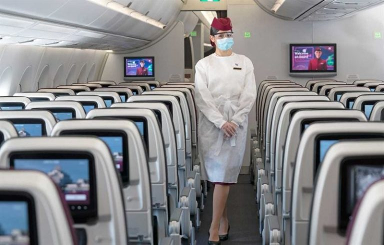 Qatar Airways receives 5-Star COVID-19 Airline Safety Rating