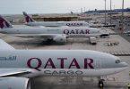 Cargo da Qatar Airways recebe três novos cargueiros Boeing 777