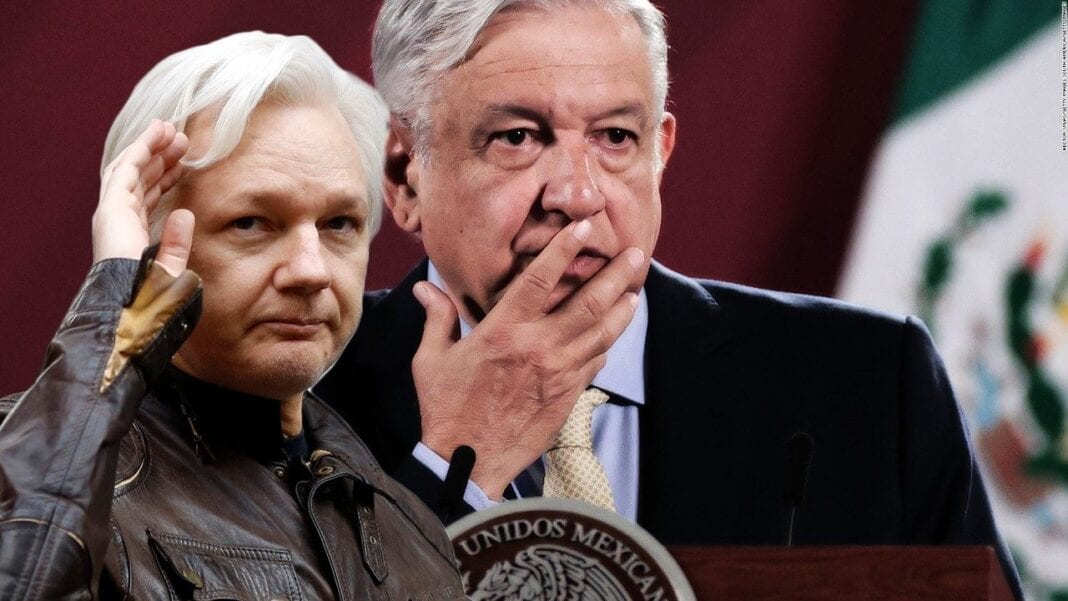Mexico offers asylum and protection to Julian Assange