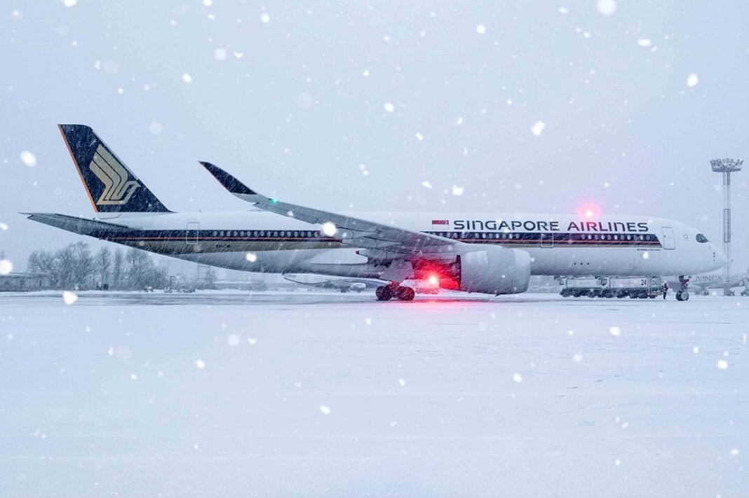 Singapore Airlines restarts Singapore-Moscow service