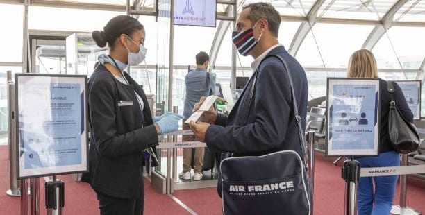 Air France certified with COVID-19 Airline Safety Rating