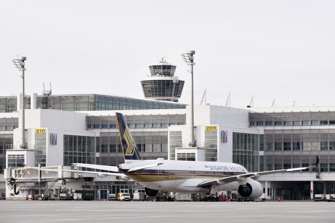 Singapore Airlines nerusake penerbangan ing antarane Munich lan Singapura