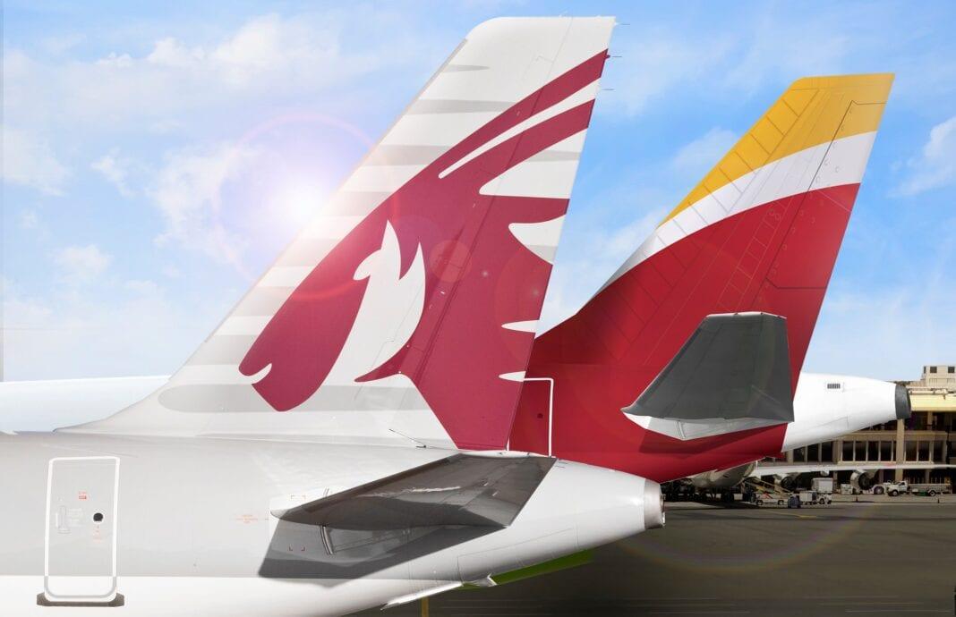 Qatar Airways ayaa heshiis ballaadhan oo dhanka ballaadhinta ah la gashay shirkadda Iberia