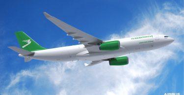 Turkmenistan Airlines mete premye lòd ak èrbus