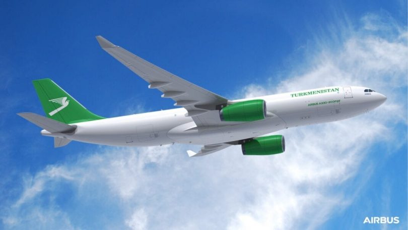 Turkmenistan Airlines daje prvu narudžbu Airbusu
