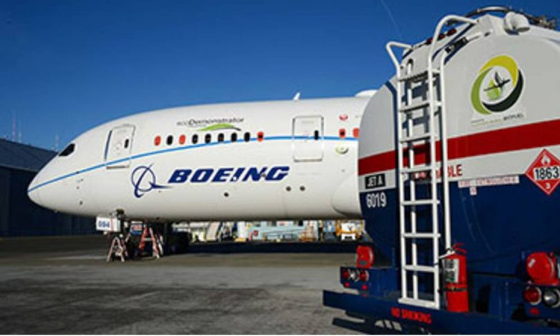 Boeing commits to deliver commercial planes ready to fly on 100% sustainable fuels