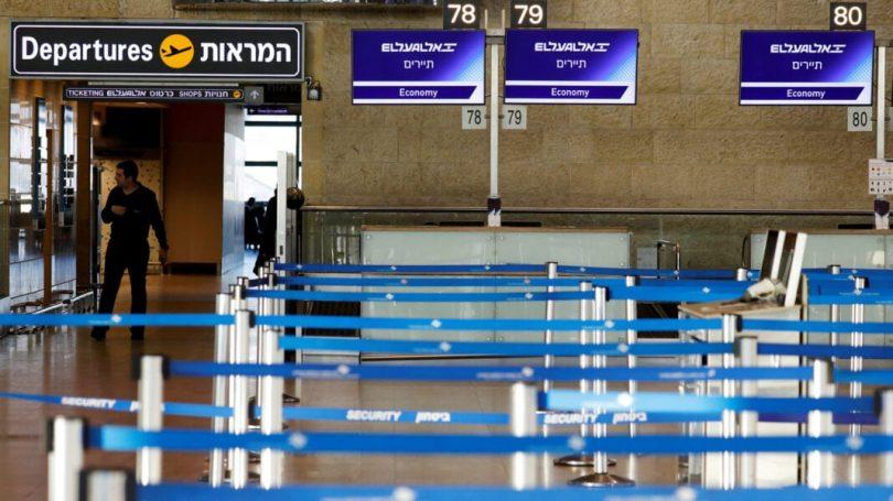 اسرائیل فرودگاه بن گوریون را می بندد ، تمام پروازهای مسافربری را متوقف می کند