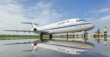 COMAC: Firaketana ny fiaramanidina 24 ARJ21 nalefa tamin'ny 2020