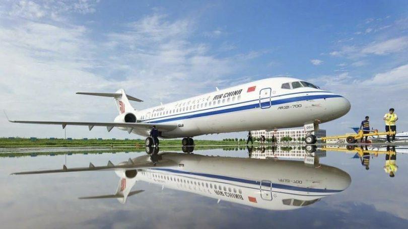 COMAC: recorde de 24 aeronaves ARJ21 entregues em 2020