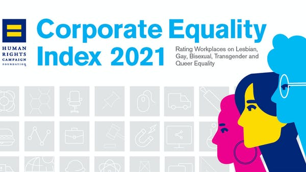ARC tjener topscore i Human Rights Campaign's 2021 Corporate Equality Index