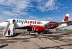 Kasakhstans FlyArystan opnår 91% til tiden i 2020
