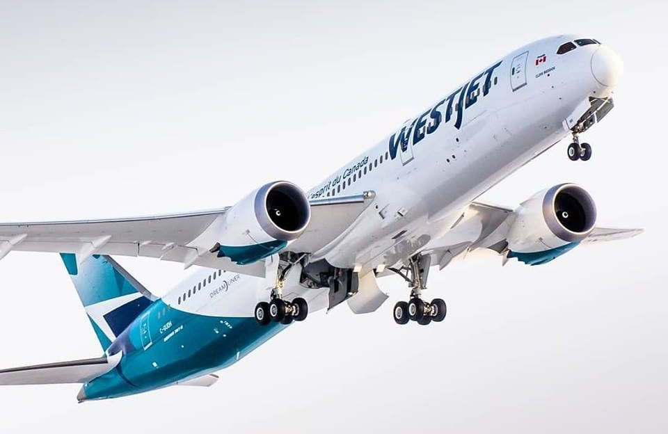 WestJet halts Mexico and Caribbean flights at request of Canadian government
