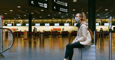 International air passenger traffic plunged 60 percent in 2020