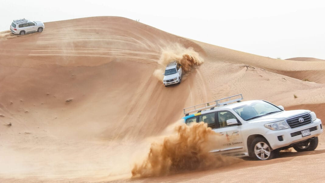 Abu Dhabi Tourism launches new off-road project