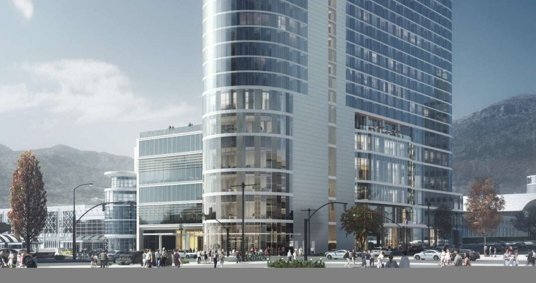 Salt Lake City convention hotel on track for fall 2022 opening