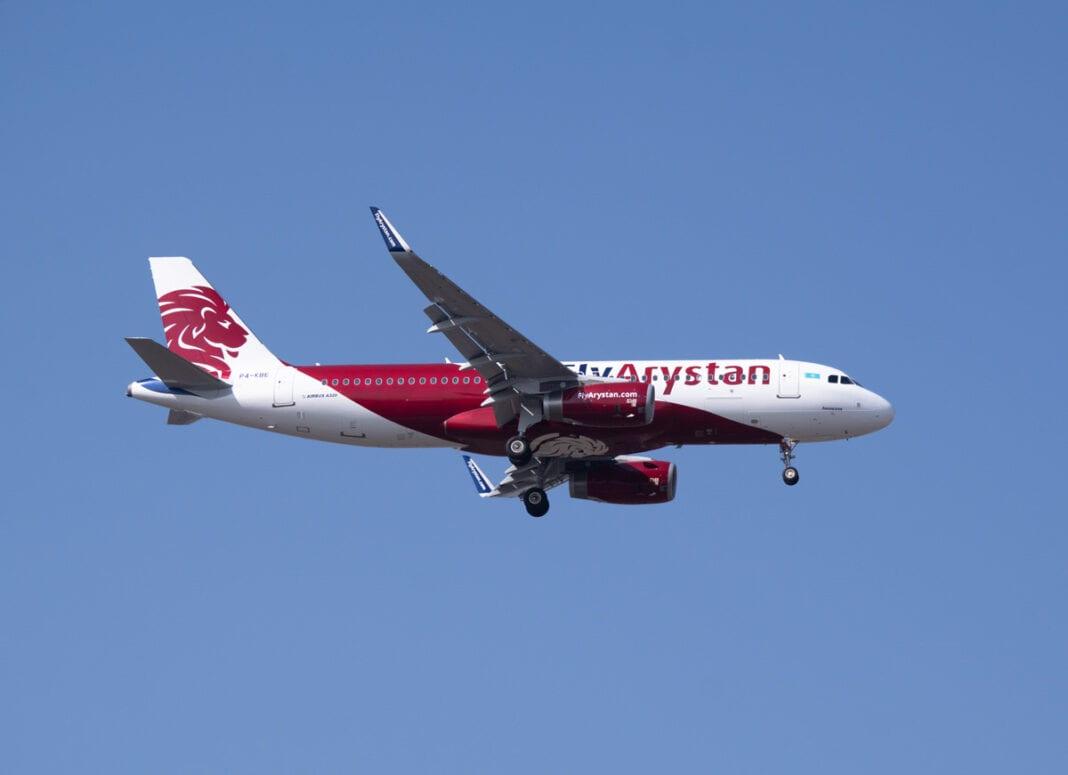 FlyArystan:1.5年の2020万人の乗客