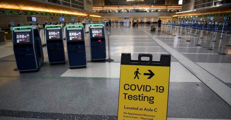 US Travel: Vážíme si mandátu mezinárodního cestovního testování CDC
